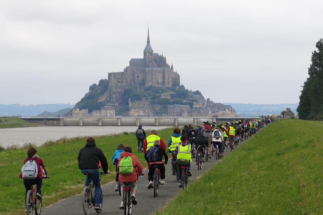 Convergence Mont Saint Michel Juin 2015