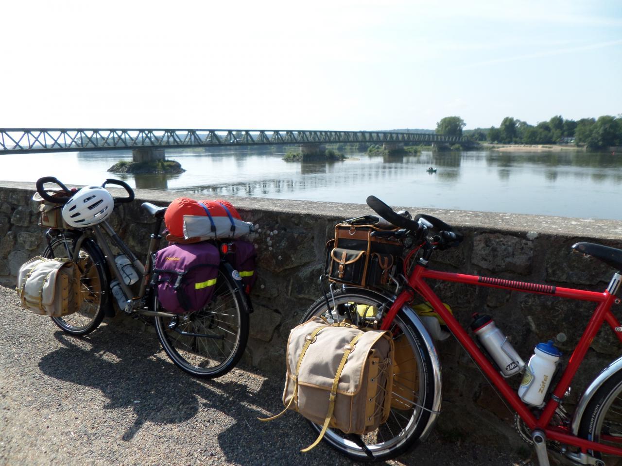 Saint Mathurin sur Loire (49) Eurovélo 6